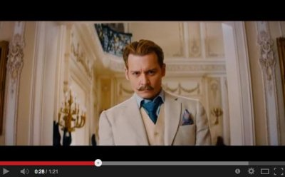 Johnny Depp stars as a spy in first trailer for 'Mortdecai'