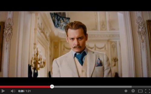 Johnny Depp stars as a spy in first trailer for 'Mortdecai'