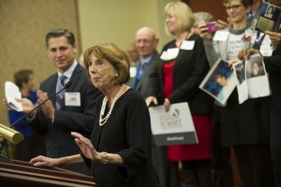 Gun-control advocate Sarah Brady dies at 73