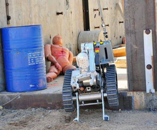 Robot rodeo: Remote-control bomb squads compete at Sandia labs