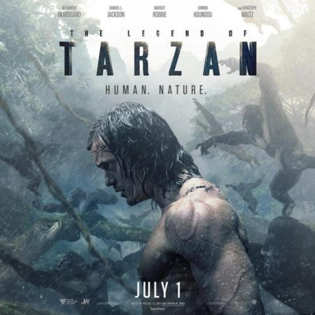 Alexander Skarsgard returns to the jungle in second 'Legend of Tarzan' trailer