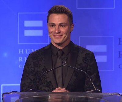Colton Haynes accepts HRC award: 'Tonight I can be myself'