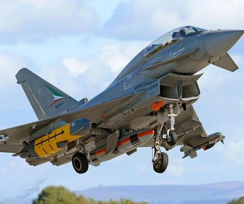 Typhoon and Hawk jets delivered to Oman by BAE