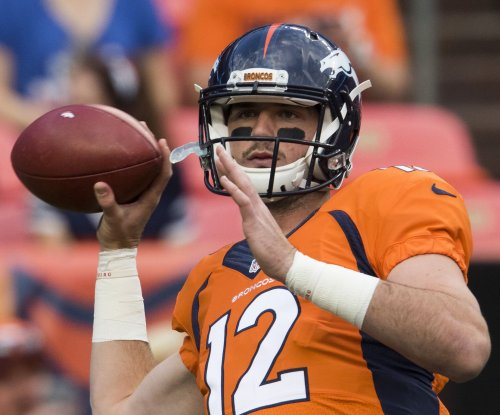 Denver Broncos QB Paxton Lynch to miss two regular-season games with injury
