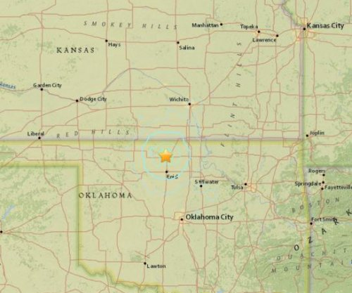 Early Saturday morning earthquake felt in Oklahoma, Kansas
