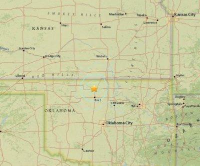 Early Saturday morning earthquake felt in Oklahoma, Kansas