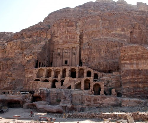 Archaeologists discover ancient monument under sands of Petra