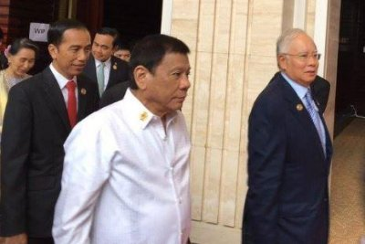 Duterte proposes joint operations with Malaysia to fight terrorism