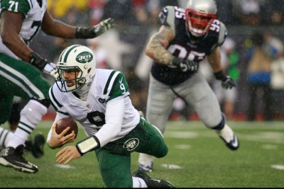 New York Jets QB Bryce Petty KO'd by New England Patriots