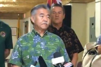 Hawaii governor forgot Twitter password to correct false missile alert