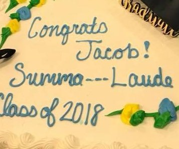 Store's bakery confuses 'Summa Cum Laude' for profanity