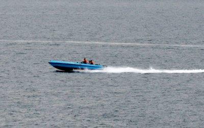 Iran speedboat threatens U.S. carrier?