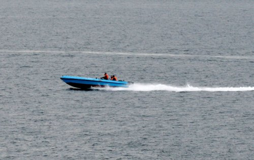 Iran speedboat threatens U.S. carrier?