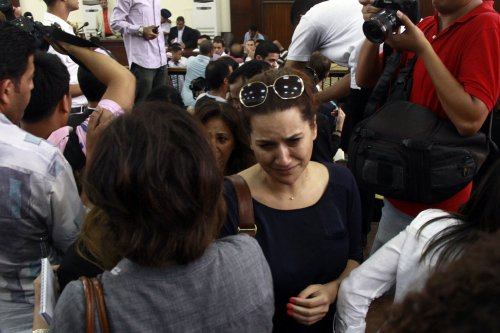 U.N. human rights head 'shocked' by Al Jazeera journalists' sentences in Egypt