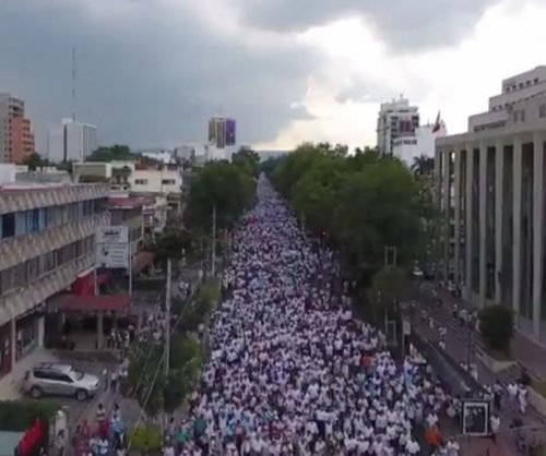 Protesters in Mexico march against same-sex marriage proposal