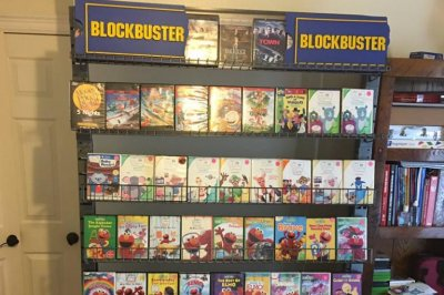 Texas couple builds mini Blockbuster for son upset about store closing