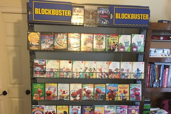 Look Parents Recreate Blockbuster Video For Son With