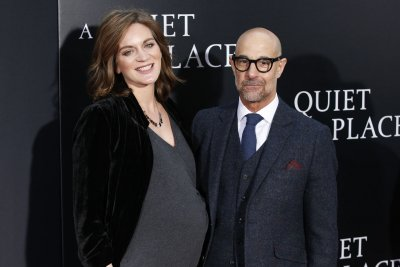 Stanley Tucci's wife Felicity Blunt gives birth to daughter