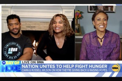 Ciara, Russell Wilson: It's a 'blessing' to be able to donate millions of meals