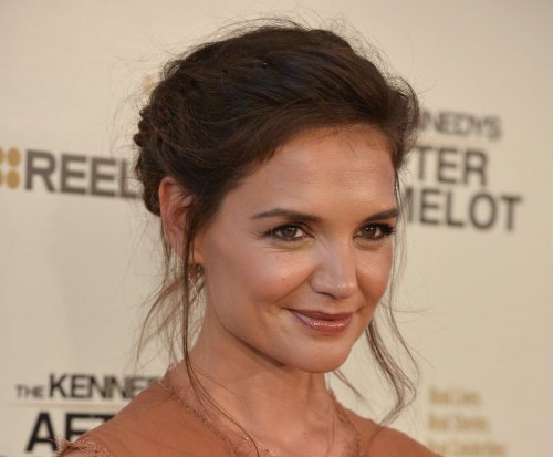 Katie Holmes says daughter Suri enjoyed visiting 'Kennedys' set