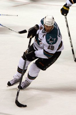 Sharks' Thornton is top player of the week