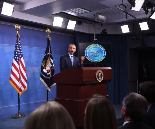 Obama says U.S. must boost air power against IS, denies $400M was Iran 'ransom' payment
