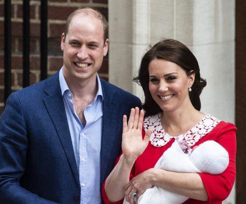 Prince Louis makes first appearance with siblings at christening