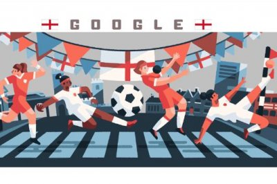 Google honors England in new Women's World Cup Doodle