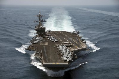 Sailors cheer USS Theodore Roosevelt captain who was relieved of command