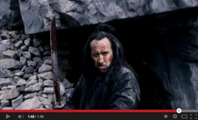 Nicolas Cage stars as a warrior in first 'Outcast' trailer