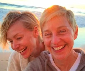 Portia de Rossi, Ellen DeGeneres share makeup-less selfie for 10-year anniversary