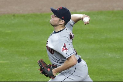 Indians' Bauer going for history vs. Athletics