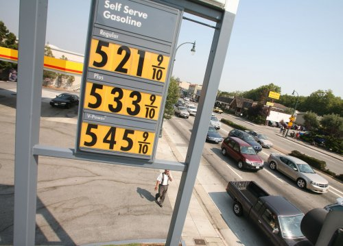 Gas prices in California skyrocketing