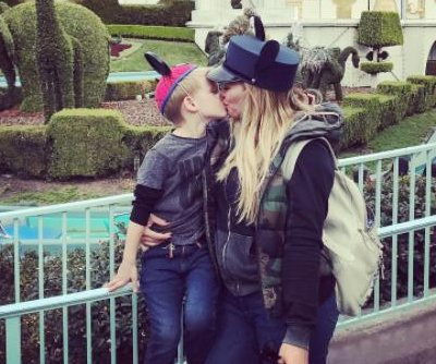 Hilary Duff defends kissing 4-year-old son on the lips