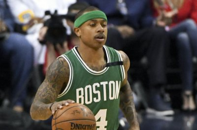 Boston Celtics lose Isaiah Thomas for rest of playoffs due to hip injury