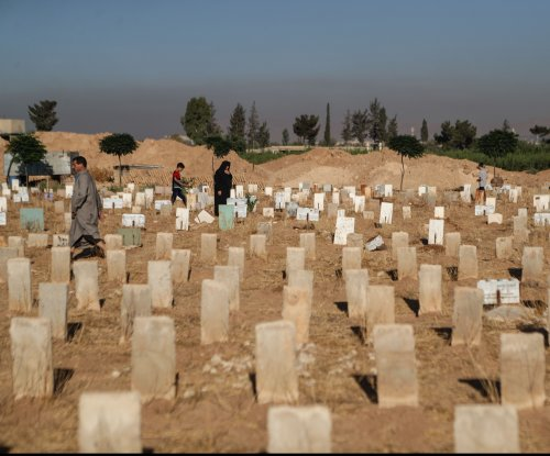 With no room for the dead, graves go up for rent in Damascus