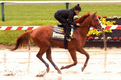 UPI Horse Racing Weekend Preview: Justify eyes Preakness Stakes