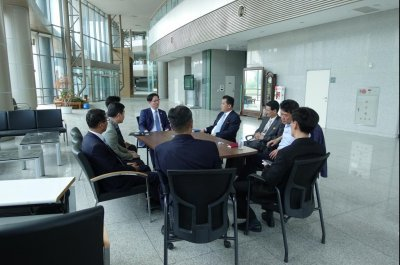 North-South Korean liaison office opens in border city