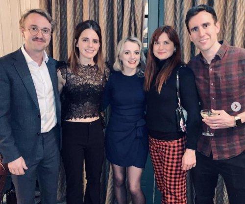 Emma Watson reunites with 'Harry Potter' stars in London