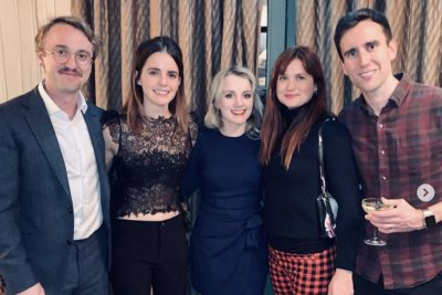 Emma Watson reunites with 'Harry Potter' stars in London