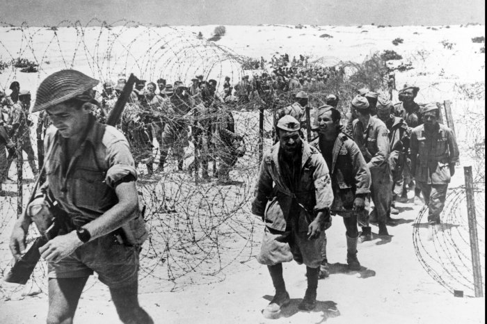 On This Day: Allied troops take 1,450 Axis prisoners in Egypt