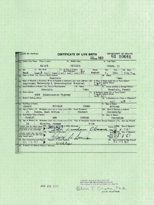 Obama releases long-form birth certificate