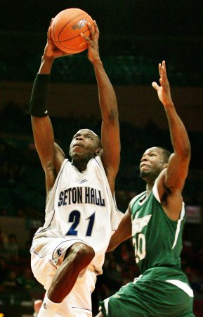 Seton Hall basketball player shot