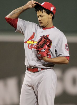 Cardinals pitcher Carlos Martinez embarrassed about 'favoriting' porn on Twitter
