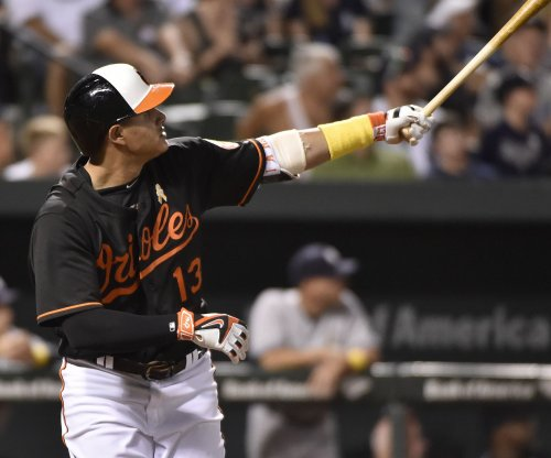 Baltimore Orioles hit four home runs and rout New York Yankees
