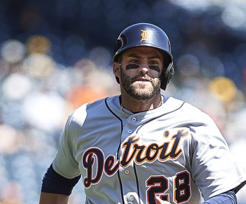 Detroit Tigers OF J.D. Martinez sidelined with foot injury