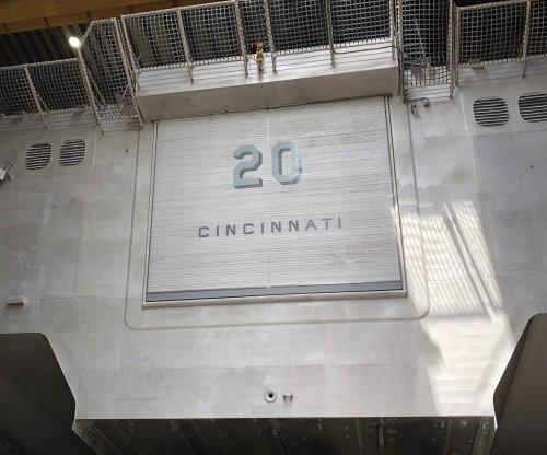 Littoral combat ship USS Cincinnati christened by Navy