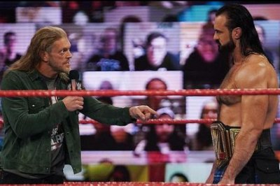 WWE Raw: Edge confronts Drew McIntyre, faces Randy Orton