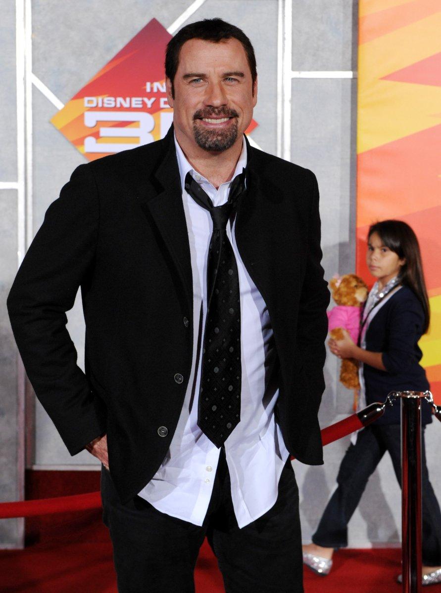 John Travolta Son Funeral