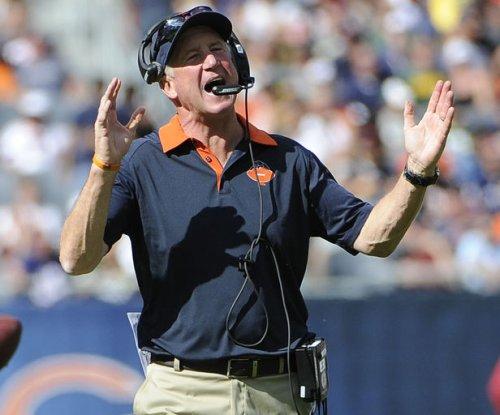 Chicago Bears shuffling bodies on defensive line
